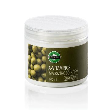 Crema de masaj cu vitamina A 200ml - YAMUNA