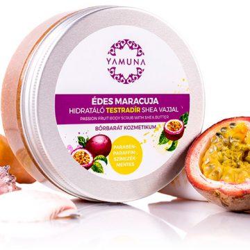 Crema exfolianta cu Unt de Shea si Maracuja 200 ML - Yamuna